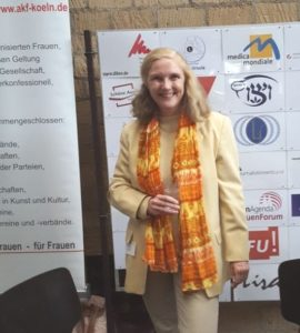 Marita Alami beim IFT im Kölner Rathaus 2018