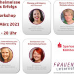 4 Geheimnisse des Erfolges – Workshop für Gründerinnen und Jungunternehmerinnen
